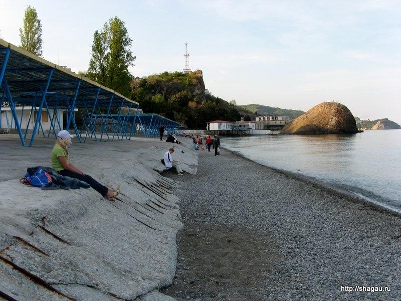 Пляжи Партенита