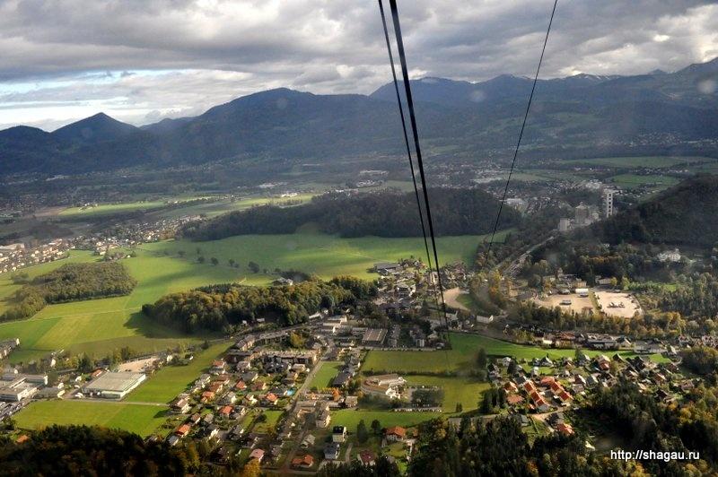 Подъем на гору Унтерберг