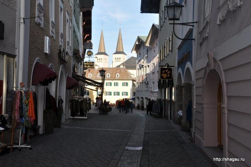 На улицах баварского города