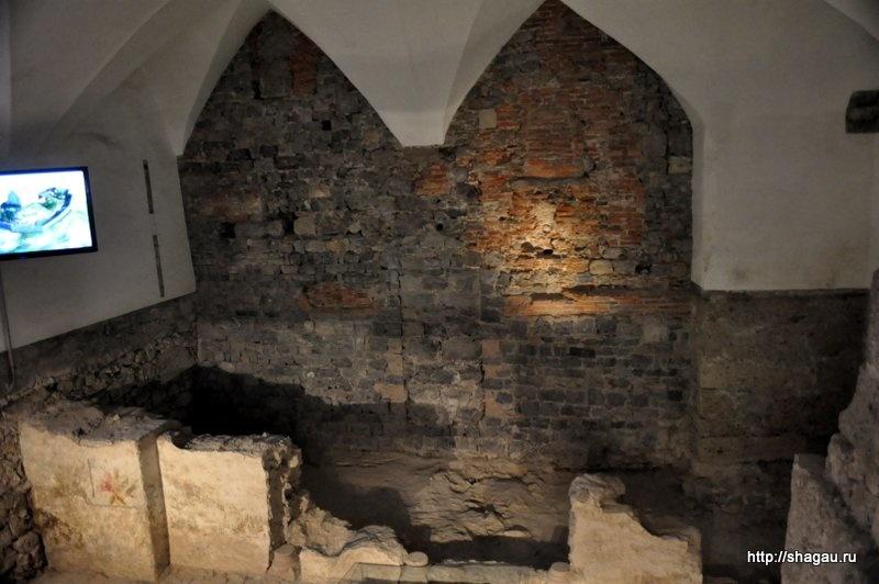 Остатки романской церкви