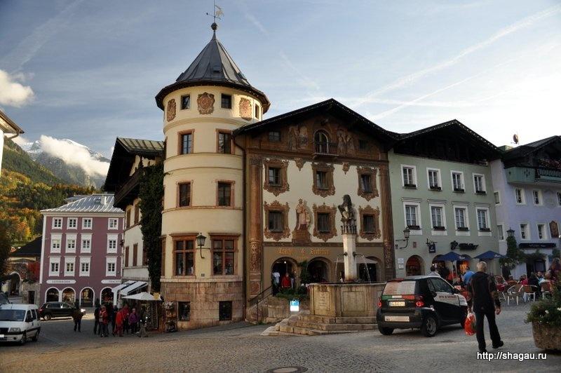 Баварский городок Berchtesgaden