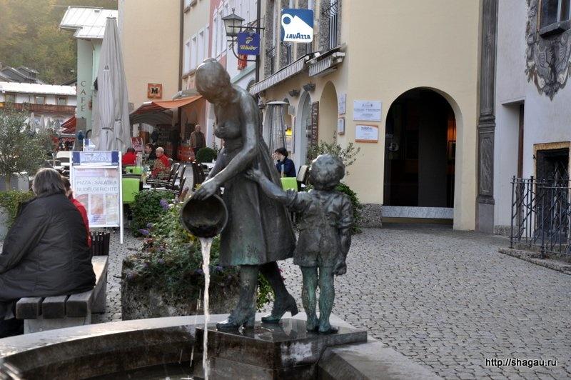 В баварском городке