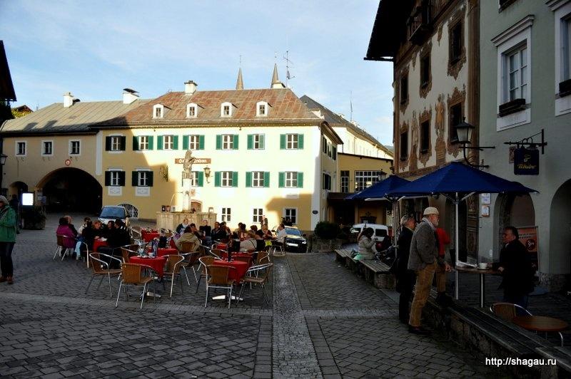 В городке Berchtesgaden