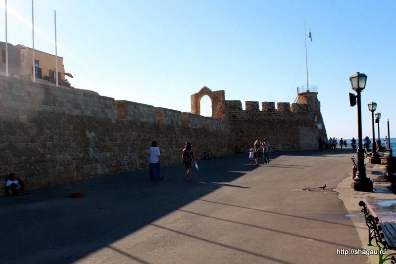 Ханья, крепость