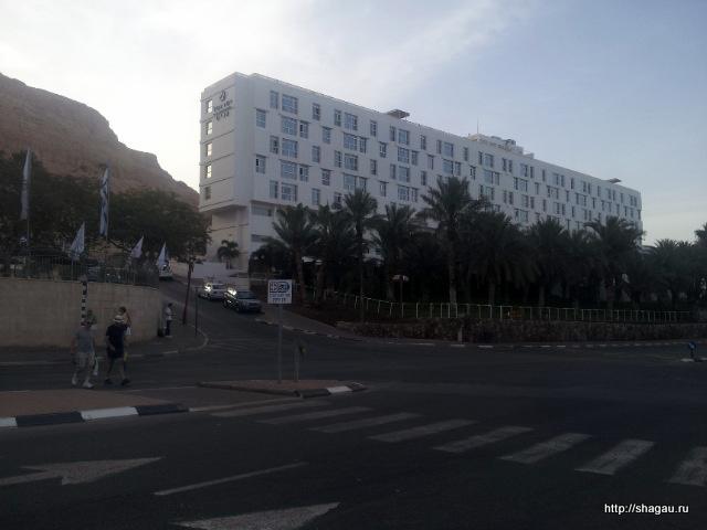 Отель Изротель Ганим. Вид с дороги