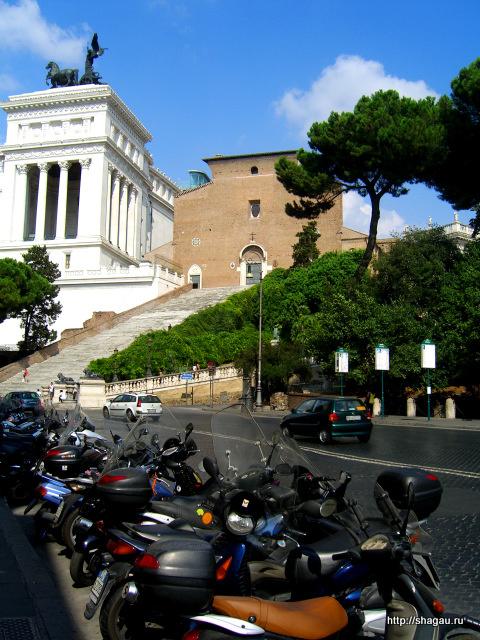 Рим. Церковь Санта-Мария-ин-Арачели