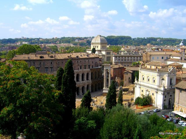 Рим. Вид из Капитолия