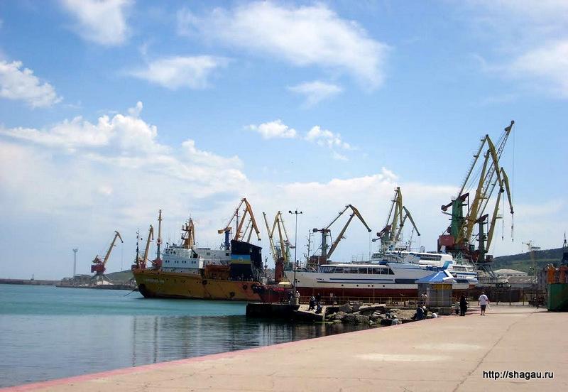 Порт Феодосии