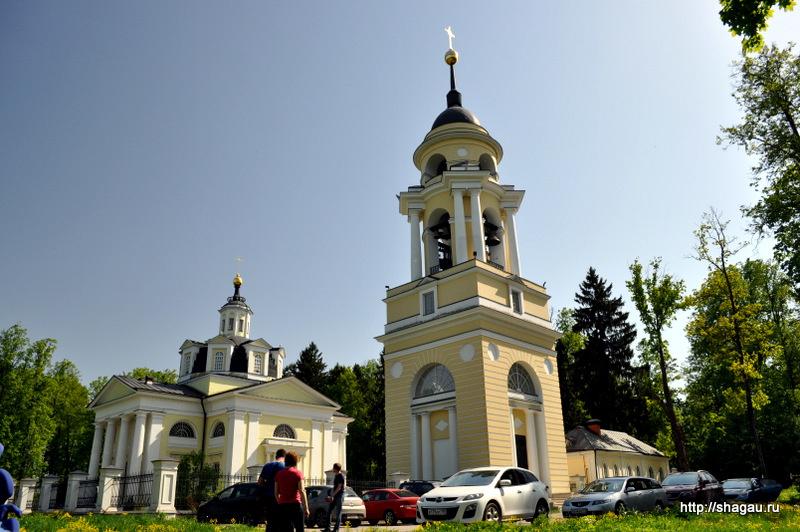 Николо-Прозорово. Никольская церковь с колокольней