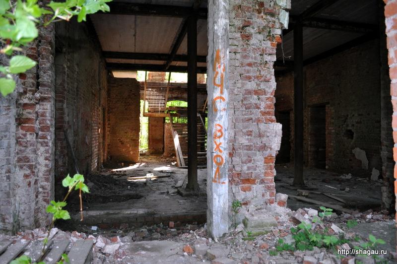 Внутри усадьбы Николо-Прозоровское