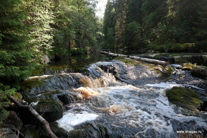 Водопад на реке Пукамонйоки