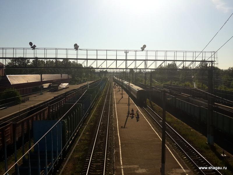 Ж\д станция в Лодейном поле