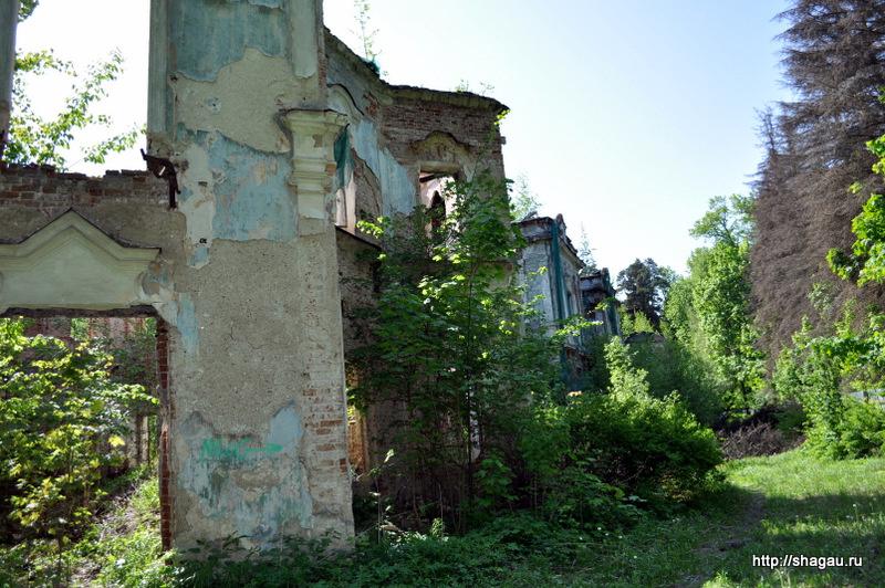 Руины усадьбы Николо-Прозоровское