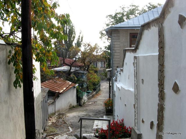 На улицах Алупки