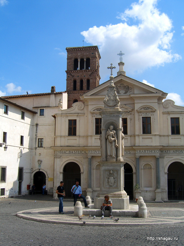 Рим. Церковь Сан-Бартоломео