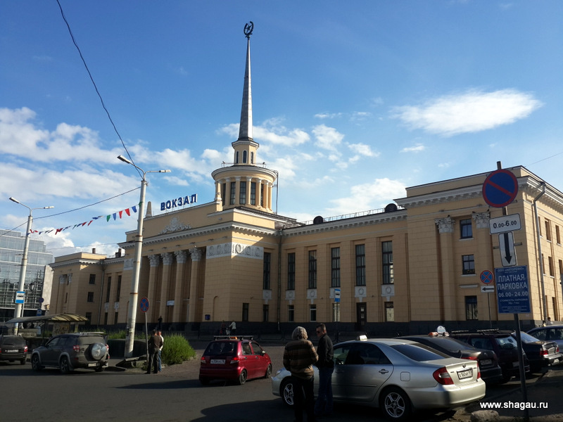 Вокзал Петрозаводска