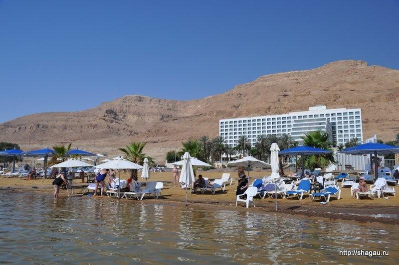 Эйн-Бокек. Мертвое море