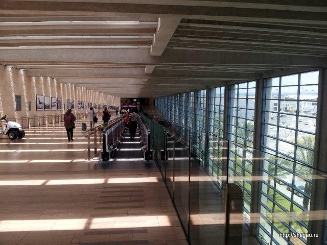 Тель-Авив. Аэропорт Бен-Гурион