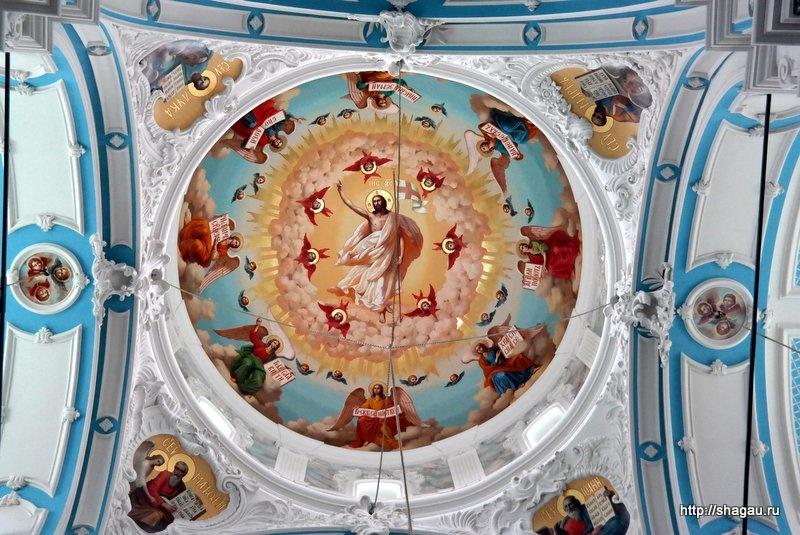 Воскресенский собор. Купол собора