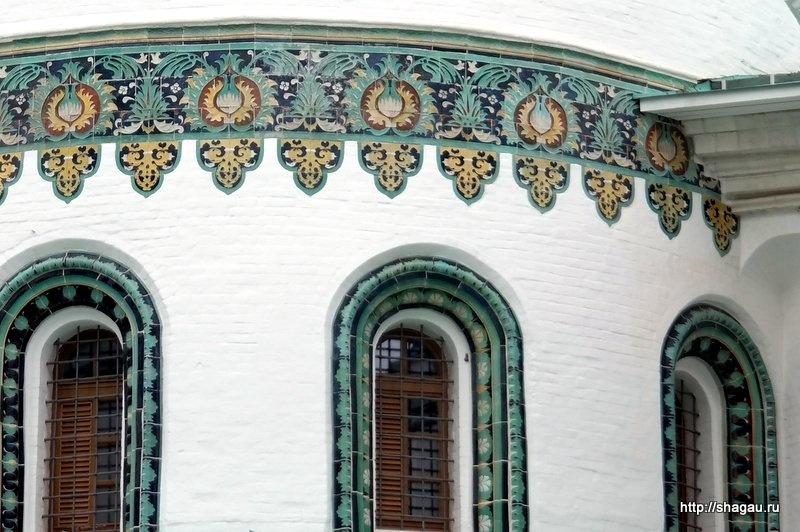 Воскресенский собор. Изразцы