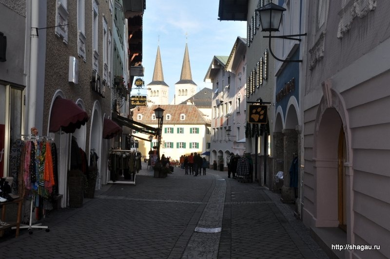 На улицах Берхтесгадена
