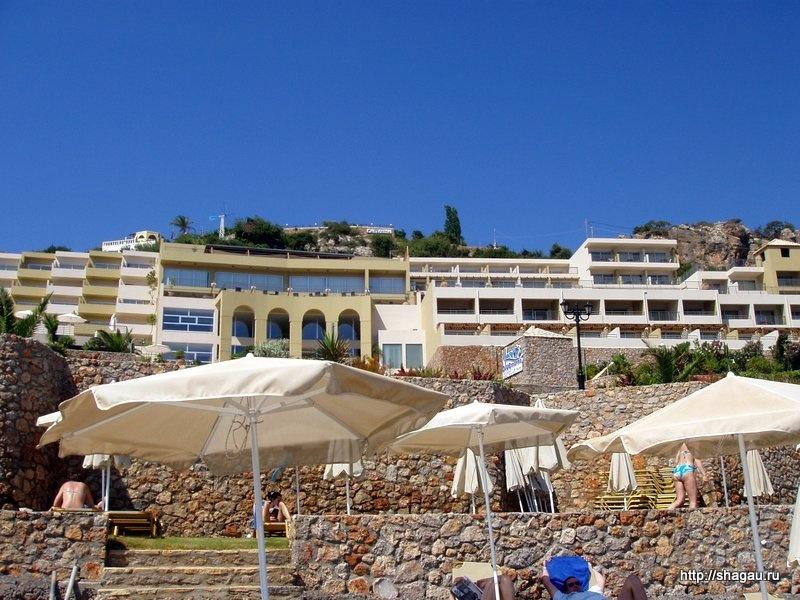 Отель Blue Marin На Крите