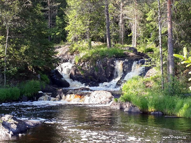 Водопады волшебные, Карелия