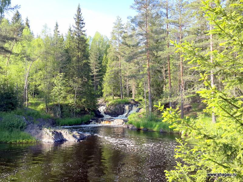 Водопады Карелия