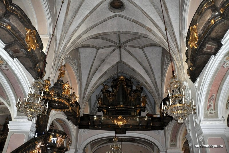 Хартберг. Церковь Святого Мартина (Stadtpfarrkirche St. Martin)