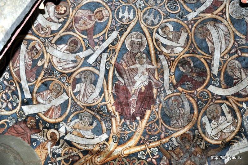 Карнер. Роспись 12-го века