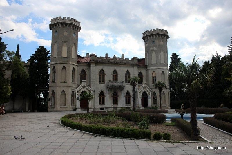 Гаспра, Крым. Дворец графини Паниной