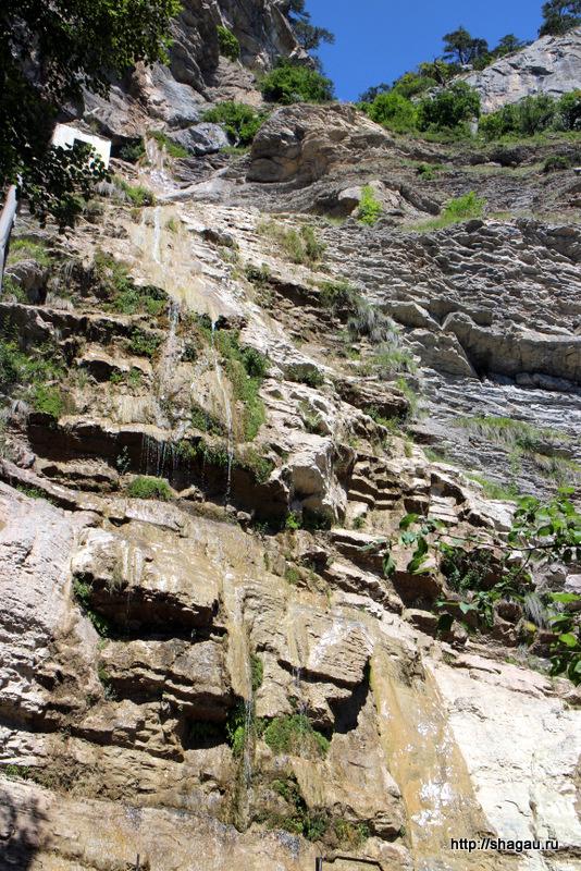 Водопад Учу-Сан