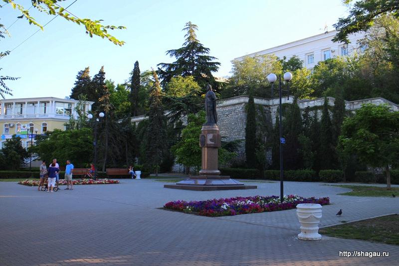 Севастополь. Екатерининский сквер