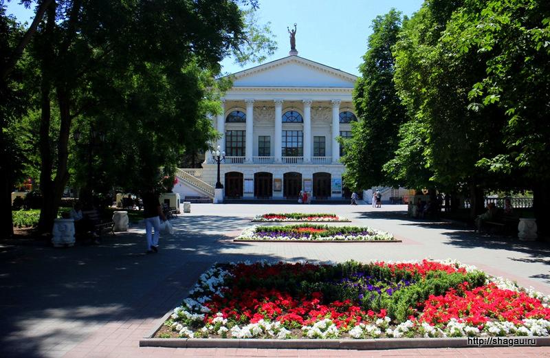Севастополь. Театр Луначарского