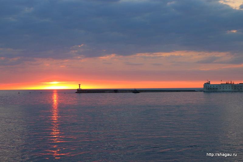 Севастополь. Закат солнца