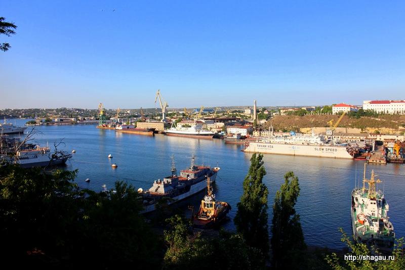 Севастополь. Вид на Южную Бухту