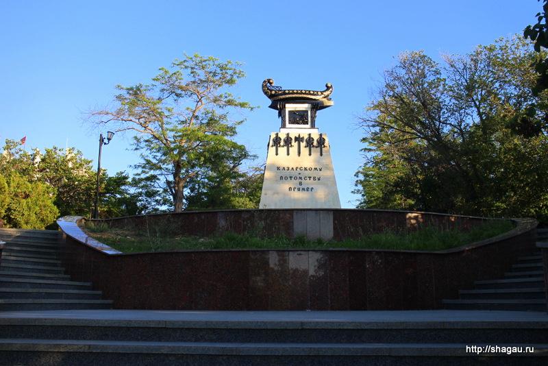Севастополь. Памятник Казарскому А.И.