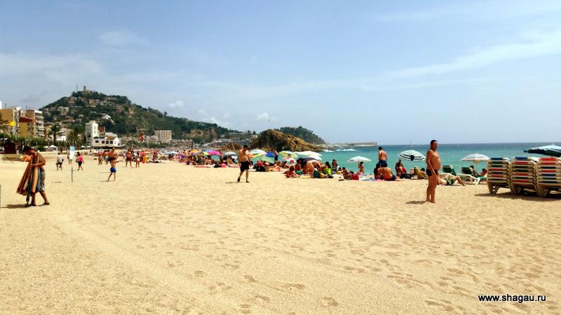 Пляж около Пимара