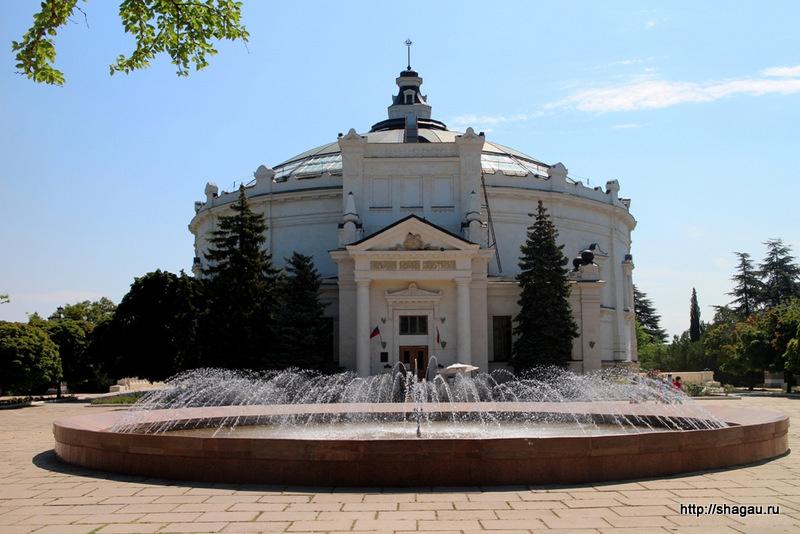 Здание Панорамы Оборона Севастополя