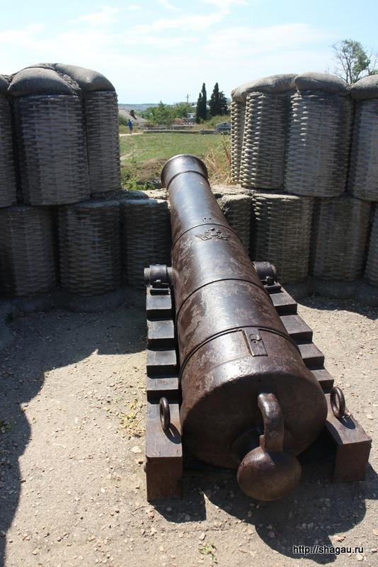 Пушка времен Крымской войны