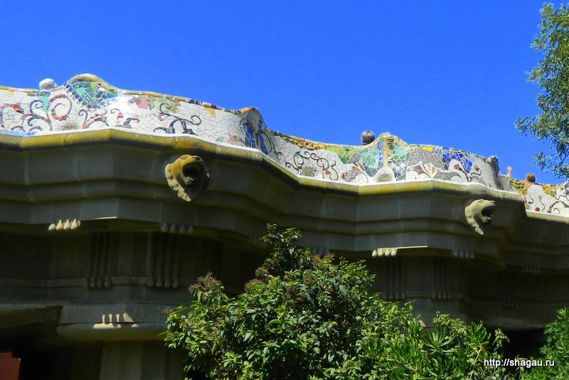 Мозаика парка Гуэль
