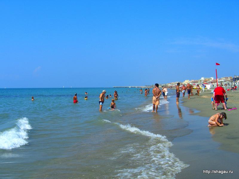 Пляж Лидо ди Остия