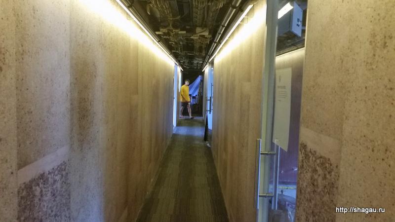 Длинный коридор Корабля Брюсов