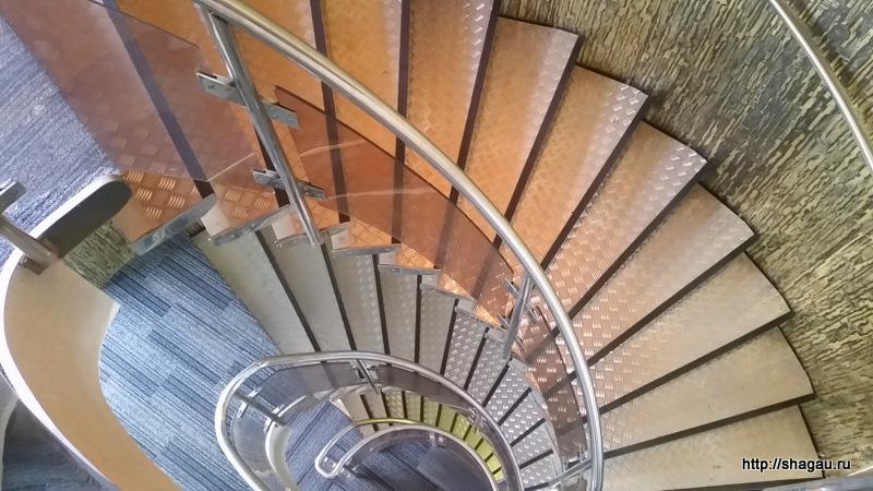 Лестница на корабле Брюсов