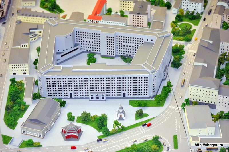 Здание Министерства обороны на Арбатской