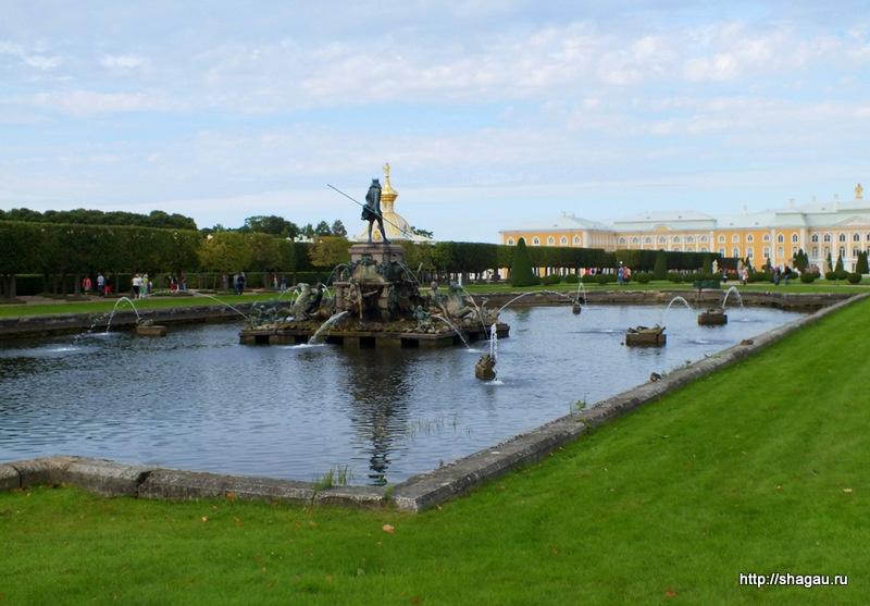 Верхний парк Петергофа