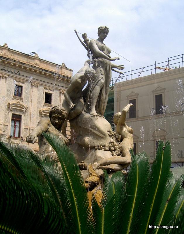 Сиракузы. Площадь Архимеда