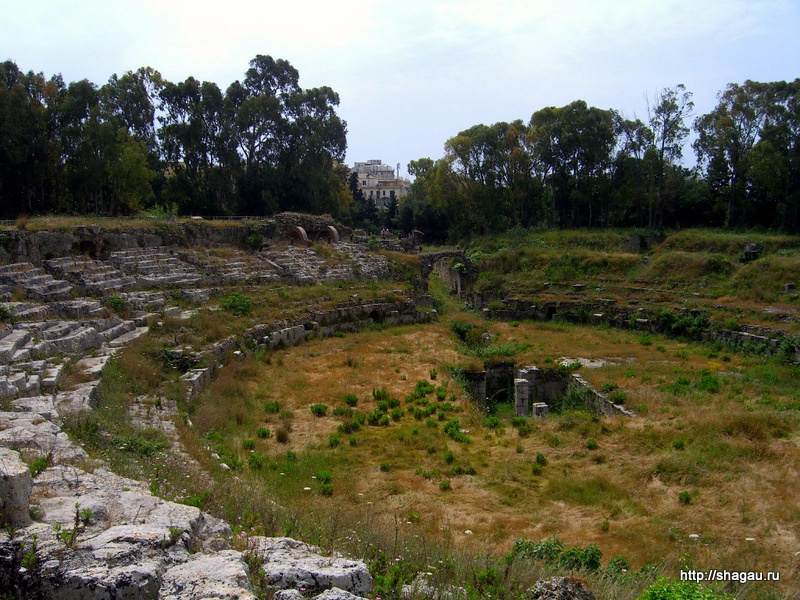 Сиракузы. Римский амфитеатр