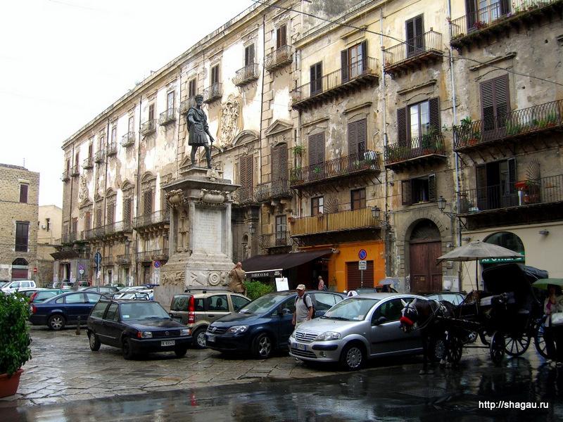 Палермо. Площадь четырех углов