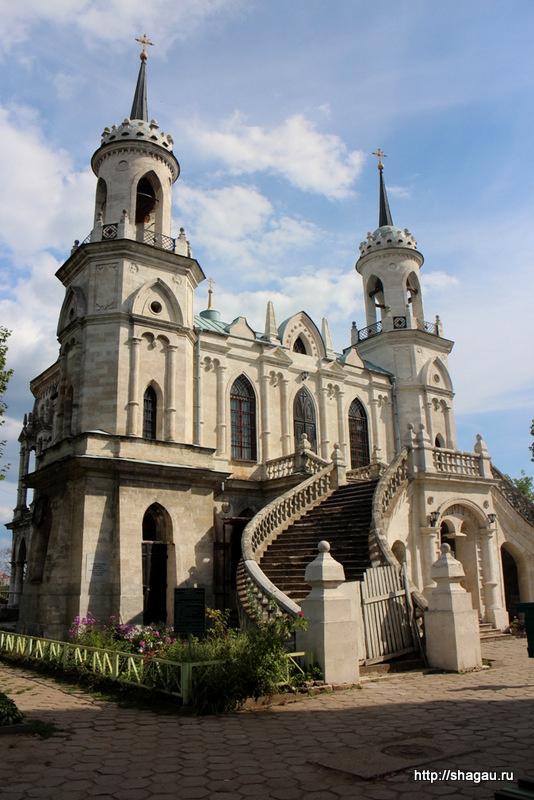 Владимирская церковь усадьбы Быково
